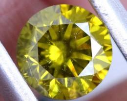 0.93 CTS INTENSE BROWNISH YELLOW DIAMONDS SD- KOA-40