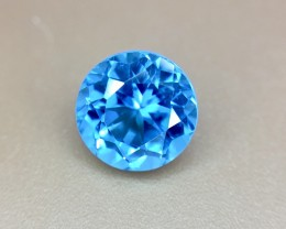 1.65 Crt Natural Topaz Faceted Gemstone (934)