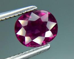 1.52 Cts Natural Grape- Purple Garnet Excellent Color ~ Kj68