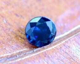 0.65 CTS UNHEATED BLUE SAPPHIRE -MADAGASCAR[SAP579]