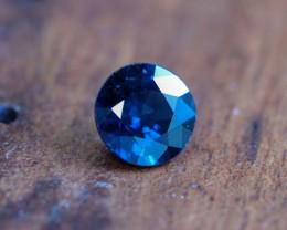 0.75 CTS UNHEATED BLUE SAPPHIRE -MADAGASCAR[SAP582]