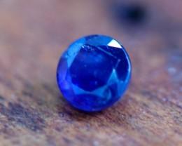 0.45 CTS UNHEATED BLUE SAPPHIRE -MADAGASCAR[SAP593]