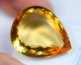Lot 10 ~ 52.34Ct Natural VS Clarity Golden Color Citrine