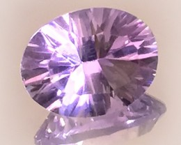 4.85ct ROSE DE FRANCE AMETHYST - A LIGHT FILLED GEM NO RESERVE