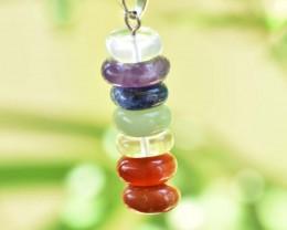 7 Chakra Pendulum Necklace