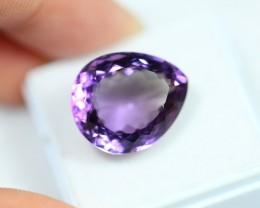 Lot 14 ~ 12.46Ct Natural VS Clarity Violet Color Amethyst