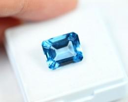 Lot 10 ~ 5.36Ct Natural VS Clarity Swiss Blue Color Topaz