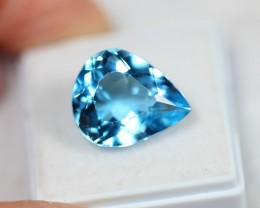 Lot 04 ~ 13.13Ct Natural VS Clarity Swiss Blue Color Topaz