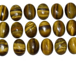 307.60 Ct TIGERS EYE WHOLESALE LOT UNTREATED NATURAL