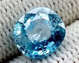 3CT BLUE ZIRCON BEST QUALITY GEMSTONE IGC105