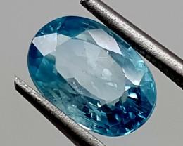 3.65 Crt Blue Zircon Best Grade Gemstones JI 173