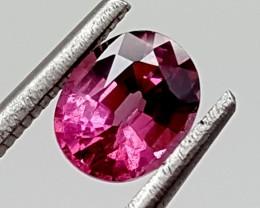 0.95 Crt Grape Garnet  Best Grade Gemstones JI 173