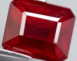 Top Quality Blood Red Ruby 5.35 Cts Mozambique Gem