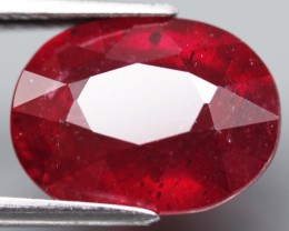 Top Quality Blood Red Ruby 6.40 Cts.  Madagascar Gem