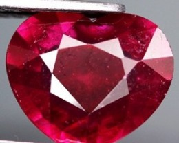 Top Quality Blood Red Ruby 2.41 Cts. Madagascar Gem