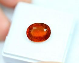 Lot 13 ~ 4.84Ct Natural Orange Color Spessartite Garnet