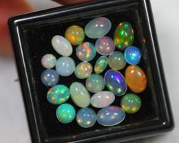 NR Lot 05 ~ 4.44ct Mix Size Welo Opal Parcel Lot