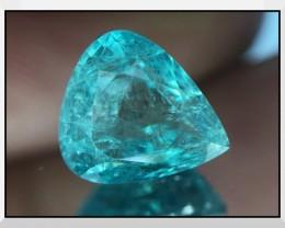 Rare Clarity 1.24 Cts Grandidierite World Class Rare Gem ~ Madagascar