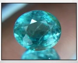 Rare Clarity 1.08 Cts Grandidierite World Class Rare Gem ~ Madagascar