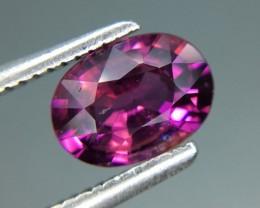 1.08 Cts Natural Grape- Purple Garnet Excellent Color ~ Kj70