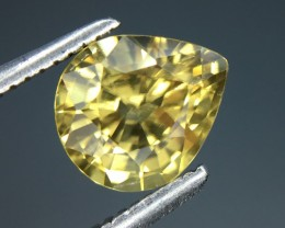1.81 Cts Natural Zircon Awesome Color ~ Cambodia Kj70