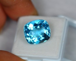 15.99ct Natural Blue Topaz Cushion Cut Lot GW510