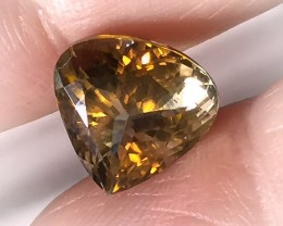 5.50ct Antique Gold VVS Tourmaline - Wonderful Jewel