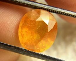 7.15 Carat SI Orange Sapphire - Gorgeous