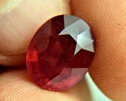 8.53 Carat Fiery Ruby - Gorgeous
