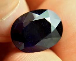 14.62 Carat Midnight Blue Sapphire - Gorgeous