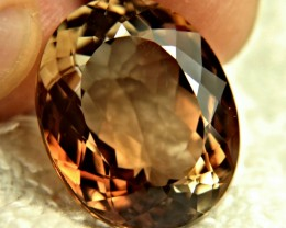 45.44 Carat Brazilian IF/VVS1 Gold Brown Topaz - Gorgeous