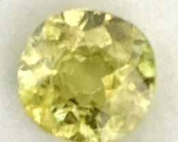 1.90ct Brilliant Yellow Green Mali Garnet, W Africa RS25/4