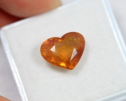 Lot 04 ~ 4.98Ct Natural Ceylon Yellow Sapphire Heart Cut