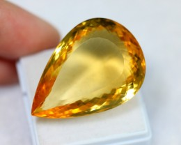 Lot 14 ~ 52.40Ct Natural VS Clarity Golden Color Citrine