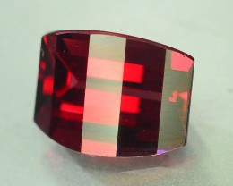 2.60 ct Natural Laser Cut Red Rhodolite Garnet