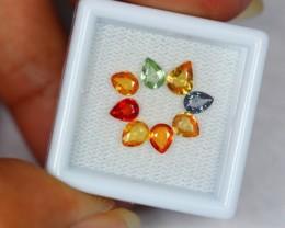 2.49Ct Natural Fancy Color Sapphire Pear Cut Lot V516