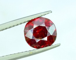2.85 cts Extremely Rare Blood Red Tantalite Loose Gemstone