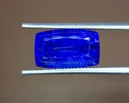 4.95 Crt Natural Tanzanite Top Color D-Block Faceted Gemstone