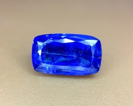 3.80 Crt Natural Tanzanite Top Color D-Block Faceted Gemstone