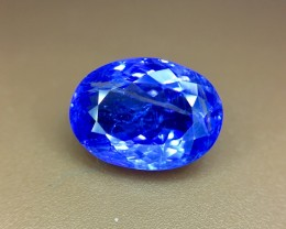 5.0 Crt Natural Tanzanite Top Color D-Block Faceted Gemstone