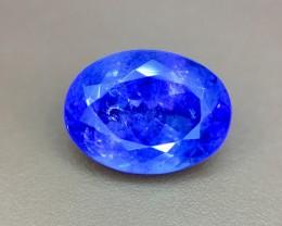 3.45 Crt Natural Tanzanite Top Color D-Block Faceted Gemstone