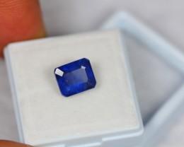 4.86Ct Natural Blue Sapphire Octagon Cut Lot V618