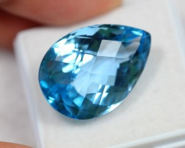 Lot 11 ~ 23.29Ct Natural VS Clarity Swiss Blue Color Topaz
