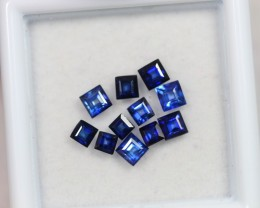 1.80Ct 2-3mm Natural VS Clarity Royal Blue Color Sapphire