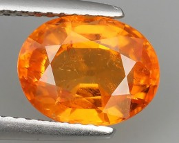 3.30 CTS EXQUISITE NATURAL UNHEATED FANTA COLOR OVAL SPESSARTITE