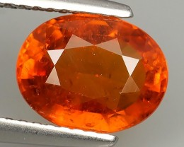 3.20 CTS-EXQUISITE NATURAL UNHEATED FANTA COLOR OVAL SPESSARTITE $620.00