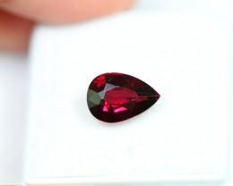 Lot 16 ~ 2.86Ct Natural VS Clarity Red Rhodolite Garnet
