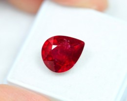 NR Lot 02 ~ 5.57Ct Natural VS Clarity Blood Red Color Ruby