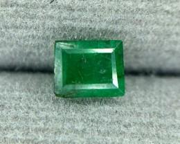 0.60 CRT Natural Swat Emerald Good Color Gemstone L5