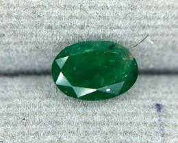 0.95 CRT Natural Swat Emerald Good Color Gemstone L5